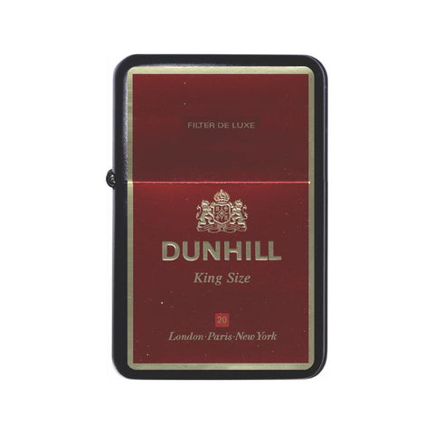 Dunhill Cigarette Box Black Z Plus 2 Vertigo Lighter