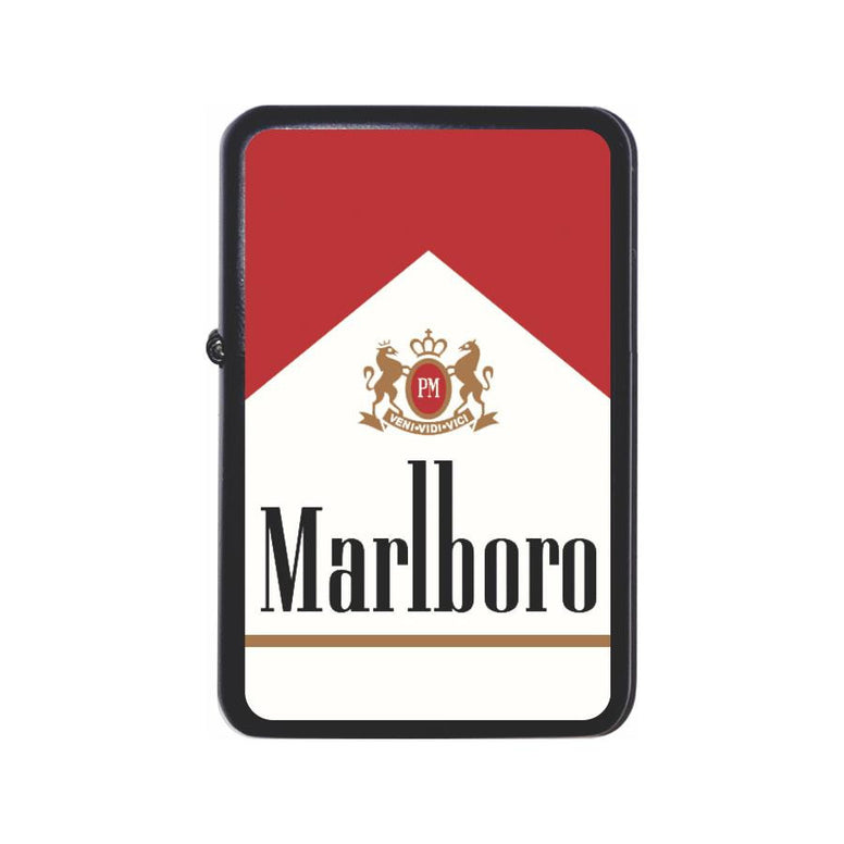 Marlboro Cigarette Box Black Z Plus 2 Vertigo Lighter