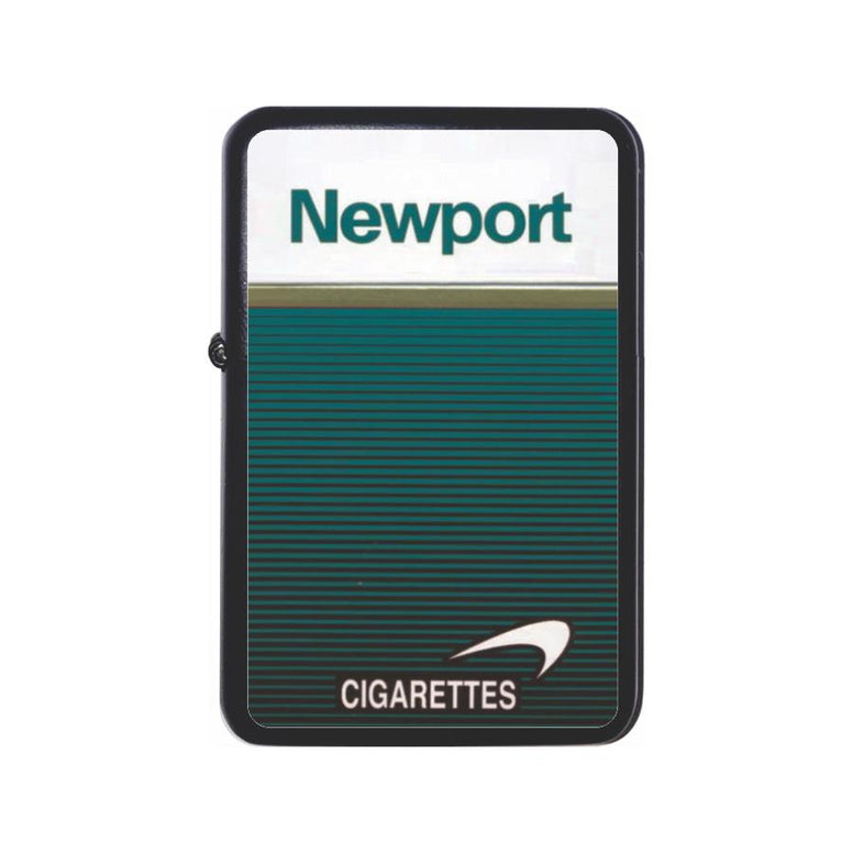 Newport Cigarette Box Black Z Plus 2 Vertigo Lighter