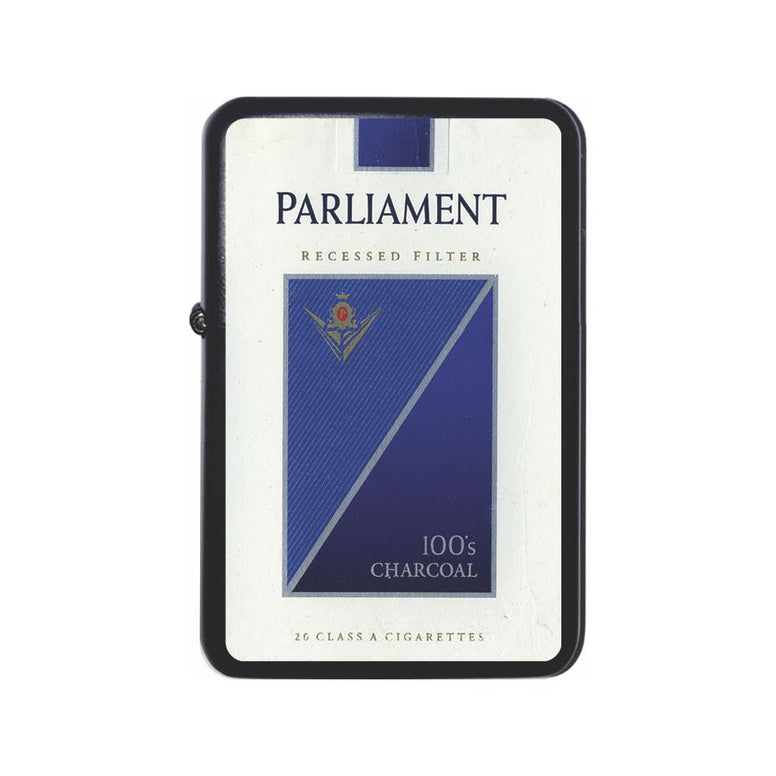 Parliament Cigarette Box Black Z Plus 2 Vertigo Lighter
