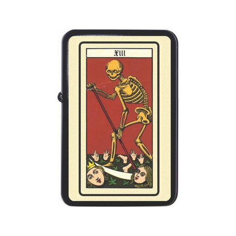 French Tarot Death Card Z Plus 2 Vertigo Lighter