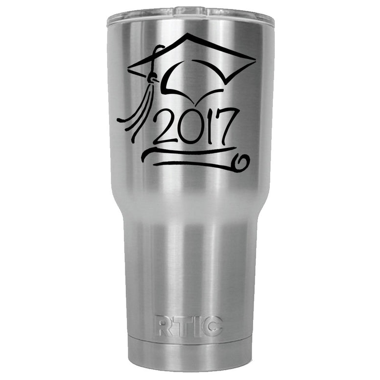 Graduate 2017 RTIC Stainless Steel Tumbler 30oz