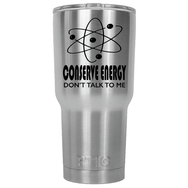 Conserve Energy RTIC Stainless Steel Tumbler 30oz