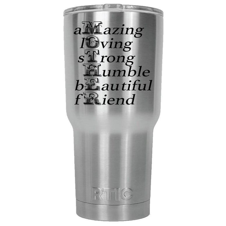 MOTHER RTIC Stainless Steel Tumbler 30oz