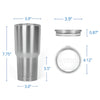 Mom a title just above Queen RTIC Stainless Steel Tumbler 30oz