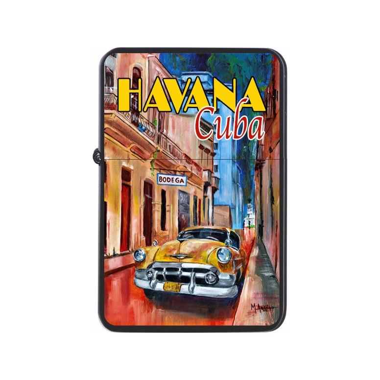 Havana, Cuba Black Z Plus 2 Vertigo Lighter