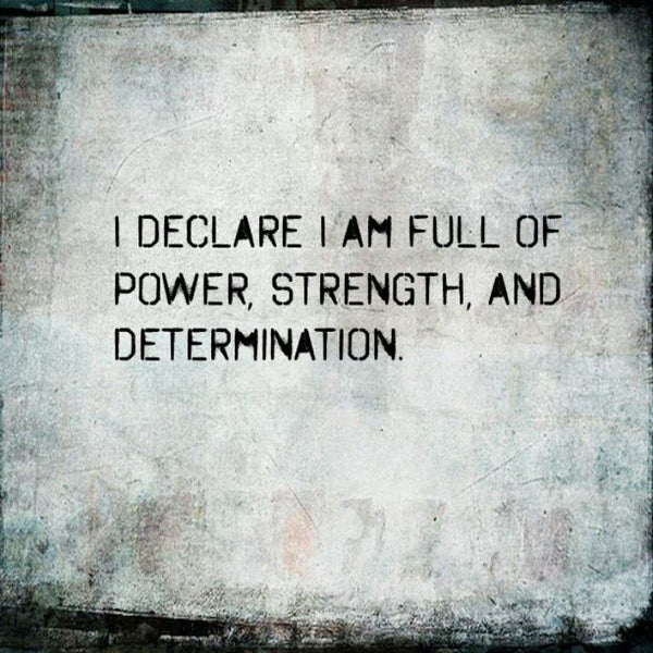strong determination and will power Willpower is also highly correlated with accomplishing personal goals what you may not know however, is that willpower is a resource that you can call upon - and at the same time, it is also a skill that you can improve.