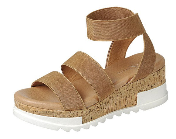 Strappy Platform Wedge Sandal