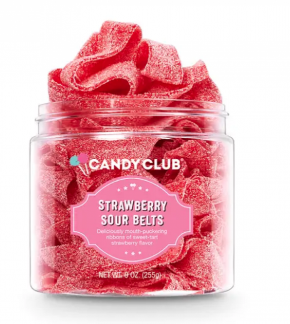 Candy Club - Strawberry sour belts