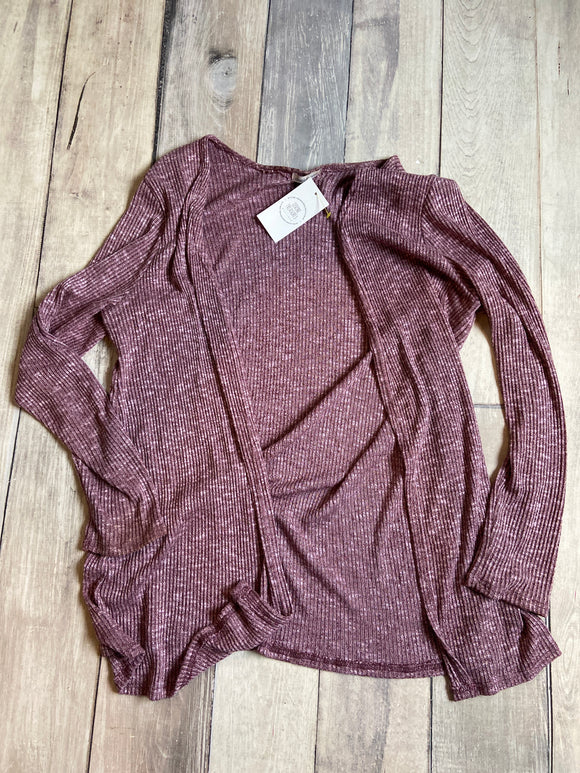 Large Purple Cardigan