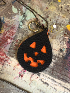 Jack-o-lantern Necklace