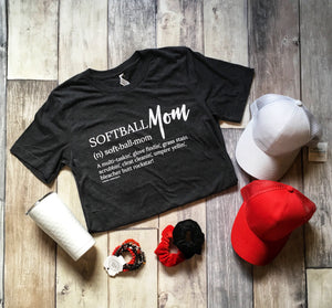 Softball Mom Graphic Tee
