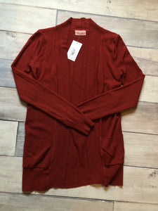 Small Be Cool Cardi Red