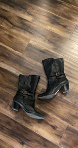 Black Boots Size 11