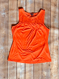 Gap Tank Red  Large