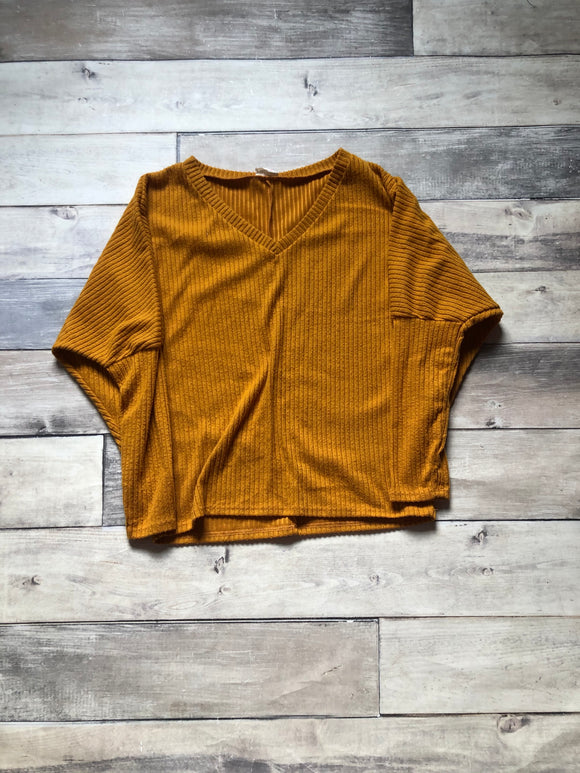 BiBi Small Mustard Sweater