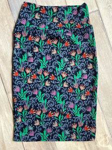 Lula Roe Cassie Floral Pattern Extra Small