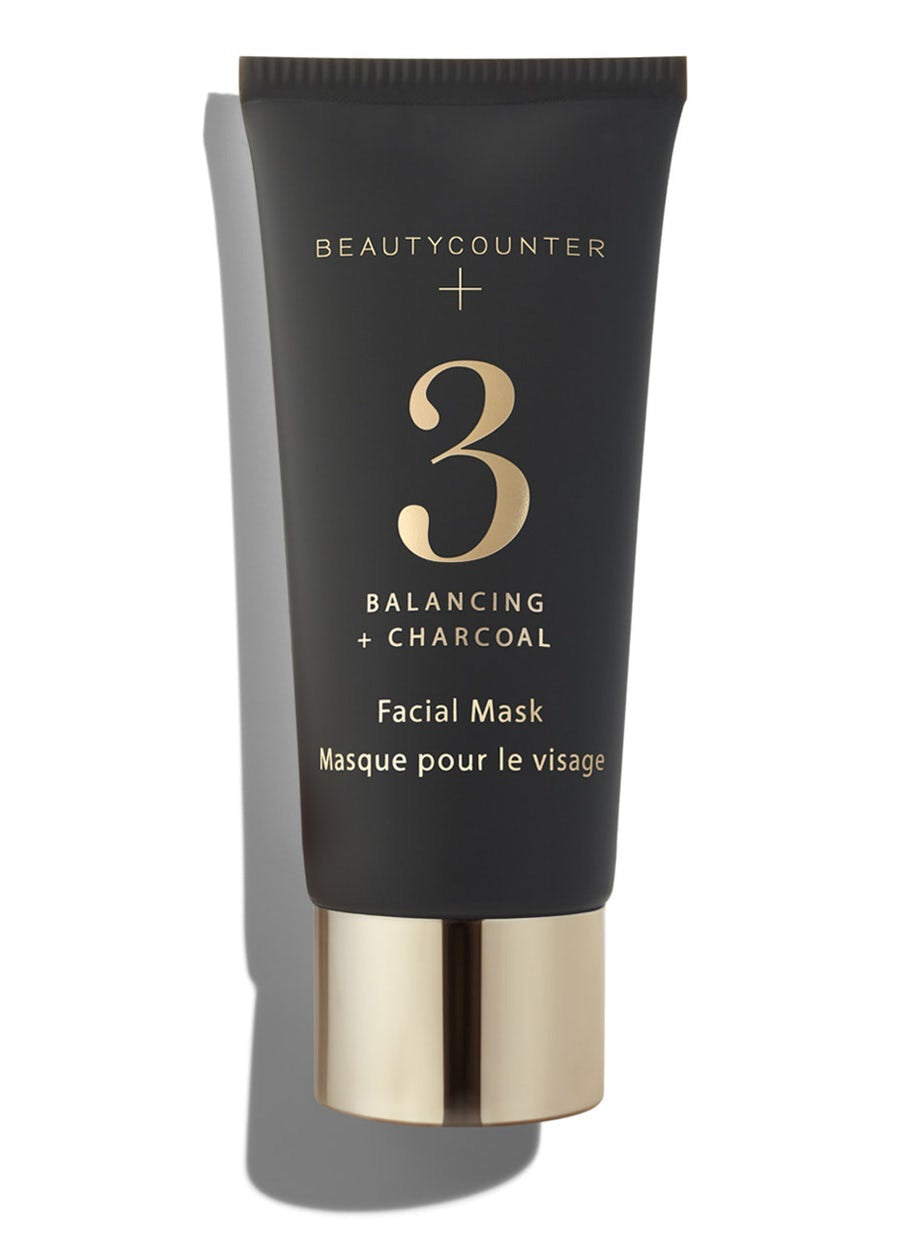 No. 3 Balancing + Charcoal Facial Mask