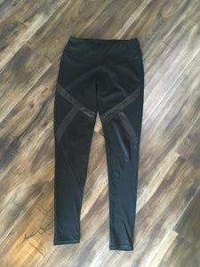 Medium Black Athletic Leggings