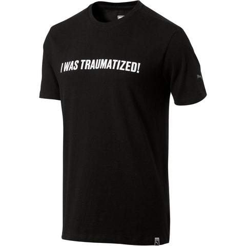 Black WOKE - TRAUMATIZED SHIRT in partnership with Puma found on MeekMill.com
