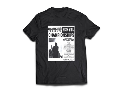 Black Dream Chasers What's Free t-shirt found on MeekMill.com