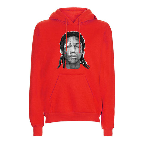 Red docket hoodie found on MeekMill.com