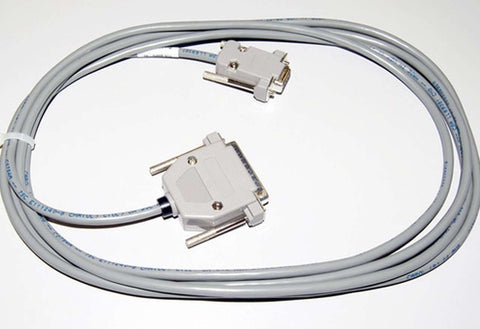 Graphtec 10' 9-25 Pin Serial RS-232-C Cable - 56040-001 - www.allprintheads.com