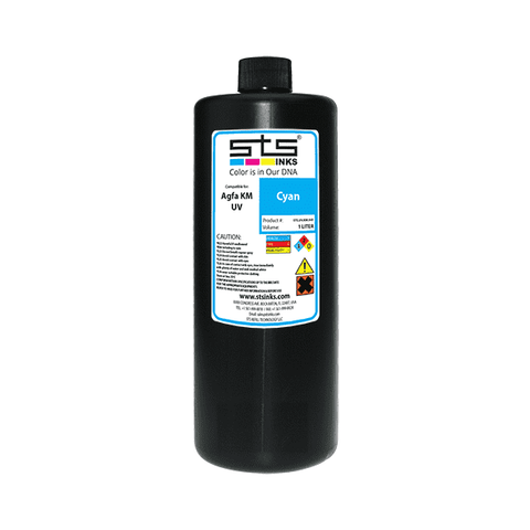 Compatible UV Cure Ink for Agfa Jeti KM 1L (UV LED) Jeti Titan/Mira/Tauro - www.allprintheads.com