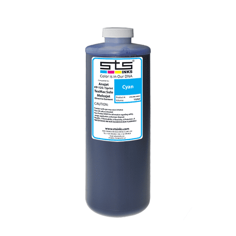 Compatible Ink for Anajet FP-125 / Sprint Direct to Garment 1 Liter - www.allprintheads.com