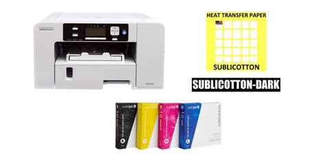 Sawgrass Virtuoso SG500 Sublimation Printer Package Bundle - www.allprintheads.com