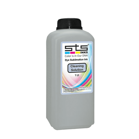 Compatible Dye Sublimation Cleaning Solution 1 Liter Bottle - www.allprintheads.com