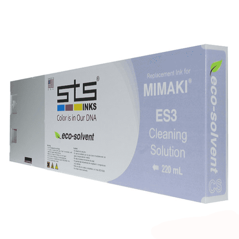 Cleaning Solution Cartridge for Mimaki Eco-Solvent ES3 220ml - www.allprintheads.com