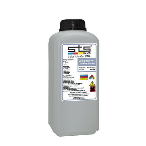 Compatible Cleaning Solution 1 Liter Bottle Roland ,Mutoh,Epson,Mimaki - www.allprintheads.com