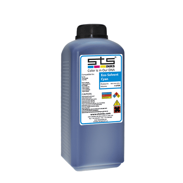 Eco Solvent Ink for Mimaki Roland and Mutoh Cyan