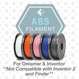 Flashforge ABS Filament. Dreamer and Inventor. - www.allprintheads.com