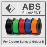 Flashforge ABS Filament. Creator Series and Guider II - www.allprintheads.com