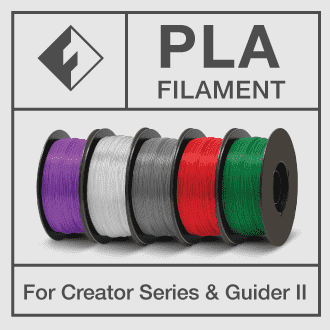 FLASHFORGE PLA FILAMENT FOR CREATOR SERIES AND GUIDER II