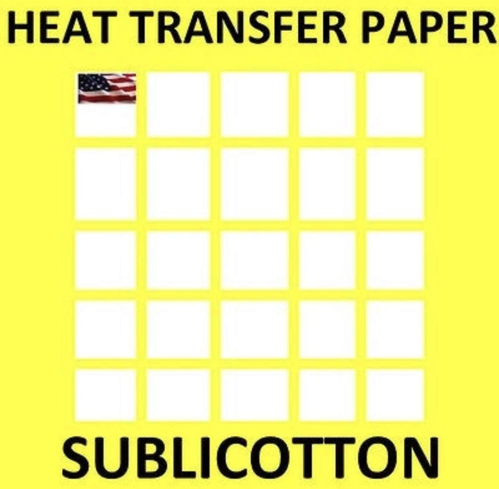 photograph regarding Printable Heat Transfer Paper named Dye Sublimation Printable Warm Go Paper for Mild Materials SUBLICOTTON Yellow Grid