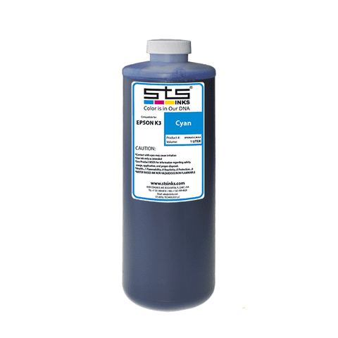 Replacement Pigment Ink for Epson Ultrachrome K3  1L - www.allprintheads.com
