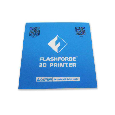 FLASHFORGE PRE-CUT BLUE HEAT PLATE PRINT TAPE - www.allprintheads.com