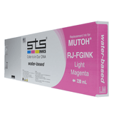 Replacement Cartridge for Mutoh Water-Based (C,M,Y,B,LC,LM) 220ml RJ-FGINK-2 - www.allprintheads.com
