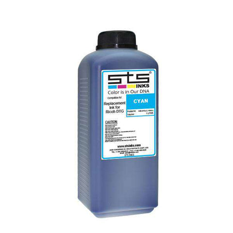 Replacement Ink for DTG Kornit 1 Liter Magenta Bottle - www.allprintheads.com