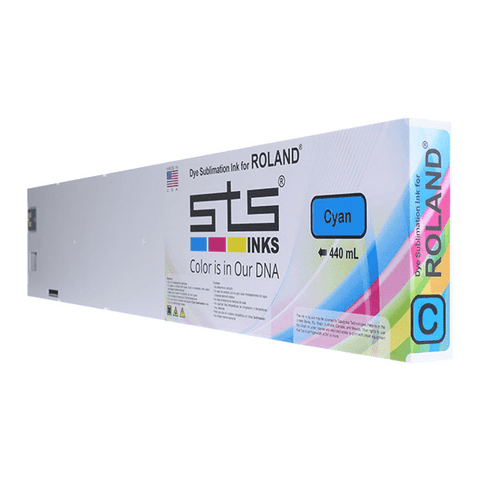Dye Sublimation Ink Cartridge for Roland with Eco-Sol MAX Chip 440mL (C,M,Y,B,LC,LM)