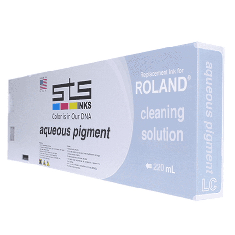 Cleaning Solution Cartridge for Roland Aqueous Pigment 220ml - www.allprintheads.com