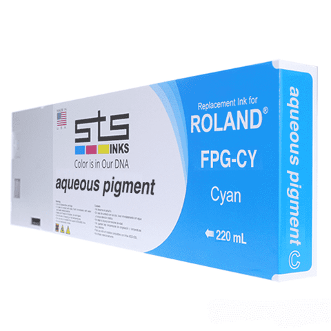 Replacement Cartridge for Roland Aqueous Pigment 220ml  FPG