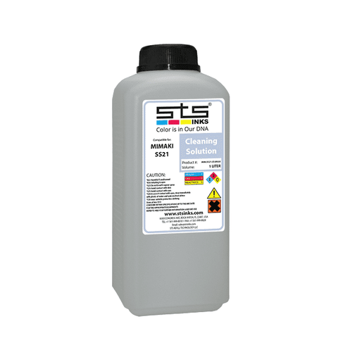Mild-Solvent SS21 Cleaning Solution 1L - www.allprintheads.com