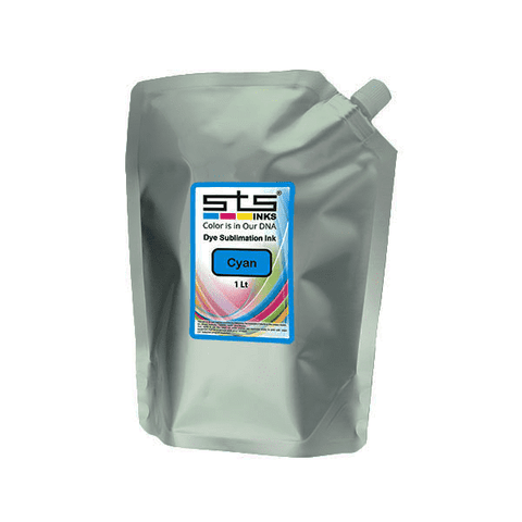 Dye Sublimation Ink Bag for EPSON SureColor F-Series 1 Liter (C,M,Y,B)