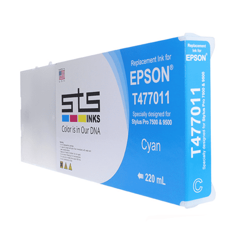 Compatible Cartridge for Epson Dye Based  (C,M,Y,B,LC,LM) 220 mL - www.allprintheads.com