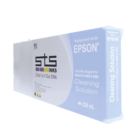 Cleaning Solution Cartridge for Epson Stylus Pro 4000 / 7600 / 9600 Pigment 220 mL - www.allprintheads.com