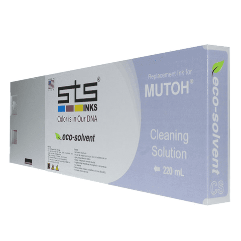 Compatible Cleaning Solution for Mutoh Eco-Solvent - www.allprintheads.com